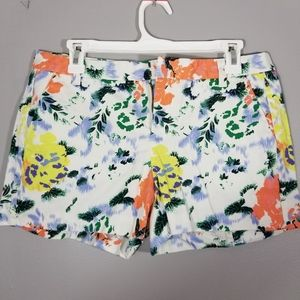 GAP Floral Print Shorts Womens Size 4
